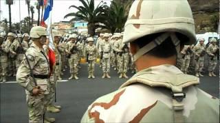 """Ceremonia """"Juramento a la Bandera"""" Arica 2011 - Juramento de Rigor Of, CLS y SDC (2da Parte)"""