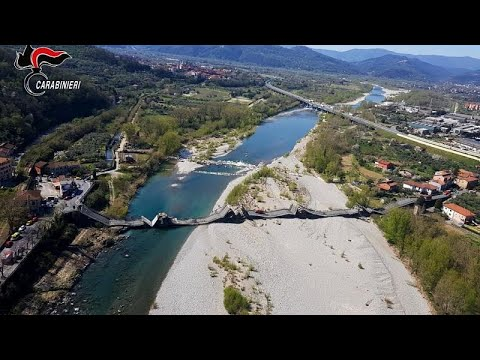 Ещё одно обрушение моста в Италии: на этот раз обошлось без жертв…