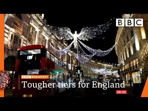 England to have tought tier system post-lockdown ? @BBC News live - BBC