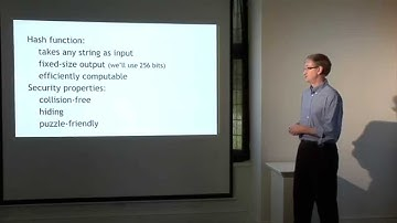 Lecture 1 — Intro to Crypto and Cryptocurrencies