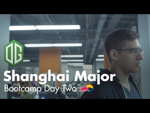 The Training | OG Shanghai Major Bootcamp Day 2