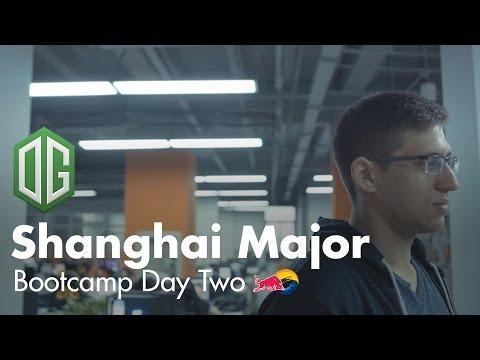 The Training   OG Shanghai Major Bootcamp Day 2