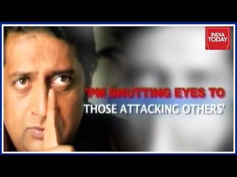 Prakash Raj Slams PM Modi For His Silence Over Gauri Lankesh's Murder? | People's Court