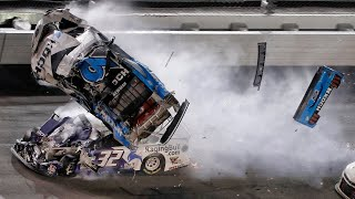 Newman injured in scary crash in final lap of Daytona 500
