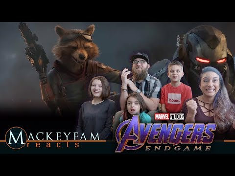 Marvel Studios Avengers: Endgame - Official Trailer #2- REACTION and REVIEW!!!