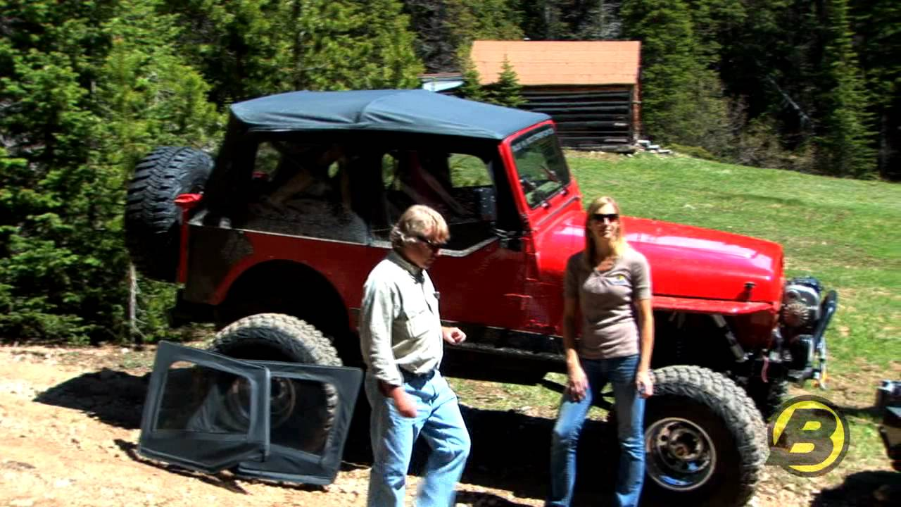 Jeep Yj Doors Explained Youtube