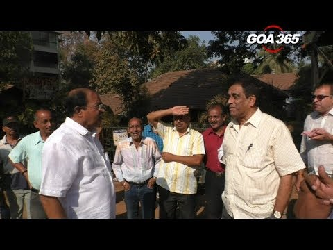 GOA365 - Ravi v s Sudin Ponda municipality politics at its best