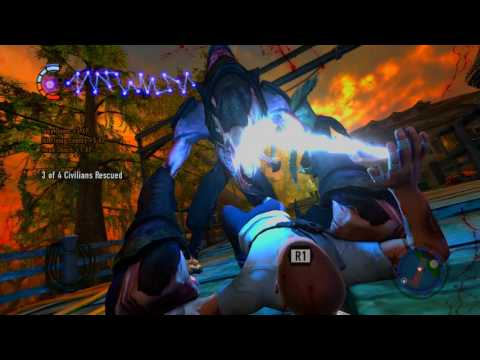 inFamous 2 100% Good Karma Walkthrough Part 36, 720p HD (NO COMMENTARY)