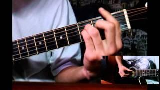 Видеоурок на гитаре. Александр Пушной - Я студент (На мотив песни гр.Пятница - Я солдат).