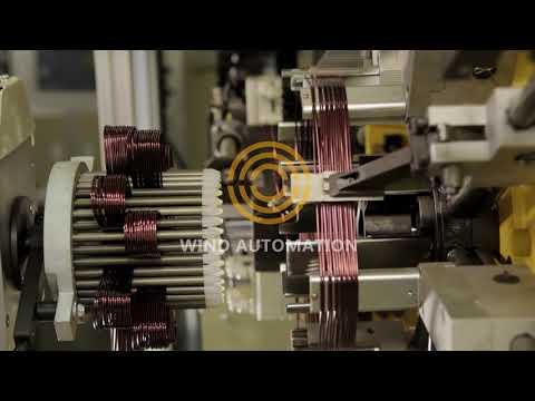 Alternator Generator Stator wave winding  production line Shanghai Wind Automation