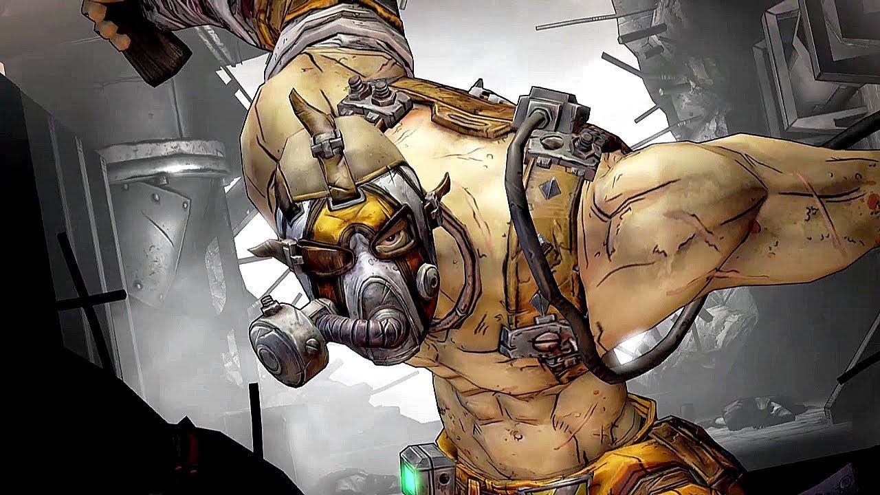 Krieg The Psycho Borderlands 2 Wallpaper By: Mania/Bloodlust Skill