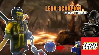 Как сделать LEGO Scorpion Mortal Kombat своими руками.[Play Hunter]