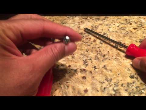 Long skinny flat head screwdriver