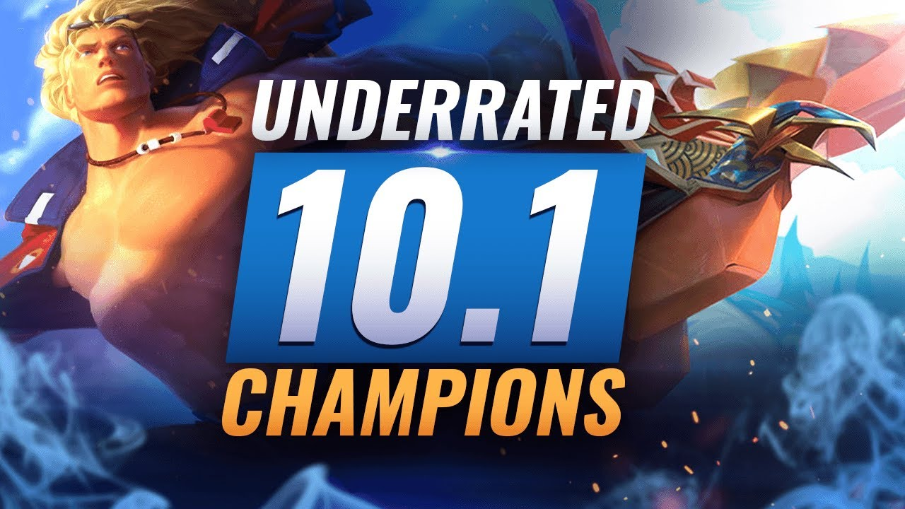 10 INCREDIBLY Underrated Champions YOU SHOULD ABUSE in Patch 10.1 - League of Legends Season 10 thumbnail