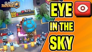 Clash Royale | NEW SERIES | EYE In The SKY | SPECTATING CLANMATES BATTLES LIVE