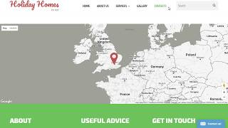 Multipurpose HTML5 Templates. Google Maps Do Not Show Up (API Key Issue) Free HD Video