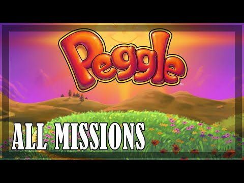 Peggle - All missions | Full game