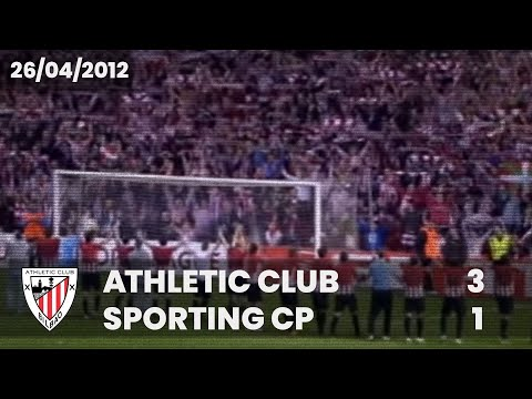 ⚽️ [Europa League 11/12] Semifinal (Vuelta) I Athletic Club 3 - Sporting CP 1 I LABURPENA