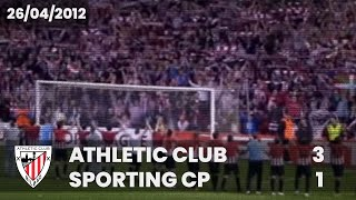 ⚽️ [Europa League 11/12] Semifinal (Vuelta) I Athletic Club 3 - Sporting CP 1 I LABURPENA Video