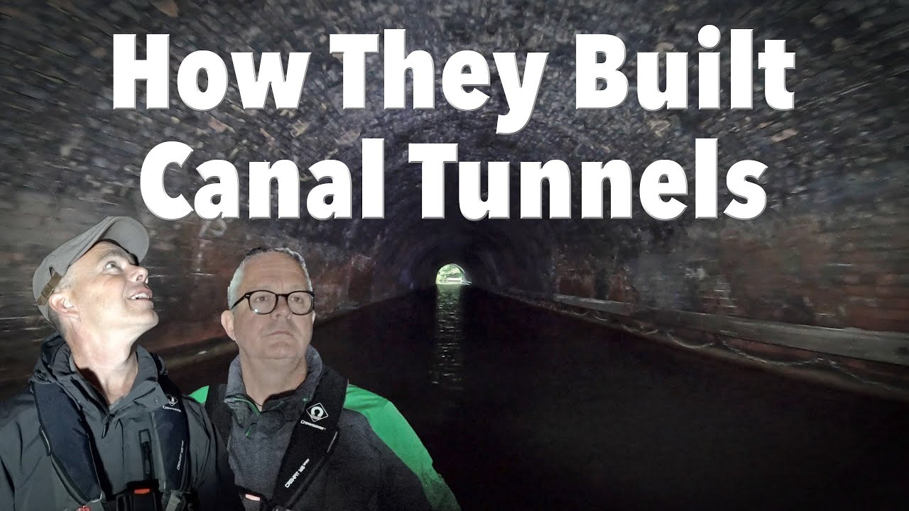 How Did They Build Canal Tunnels in a Straight Line?