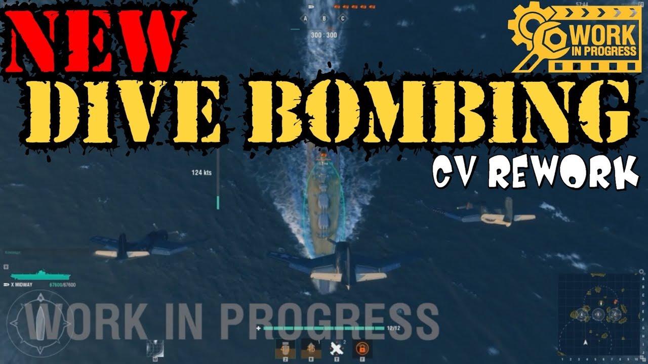 exclusive preview cv rework - dive bomber -