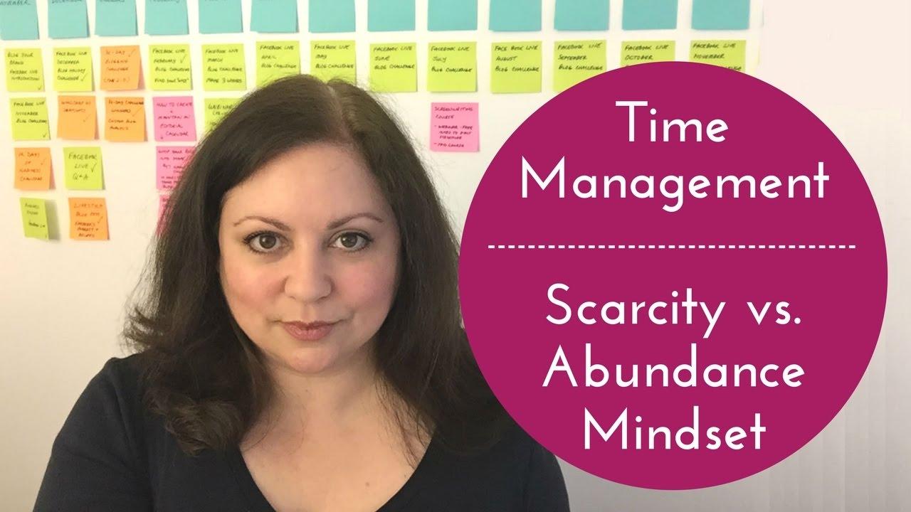 scarcity mentality covey