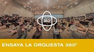 Vídeo VR 360º: Ensaya la orquesta del Teatro Real