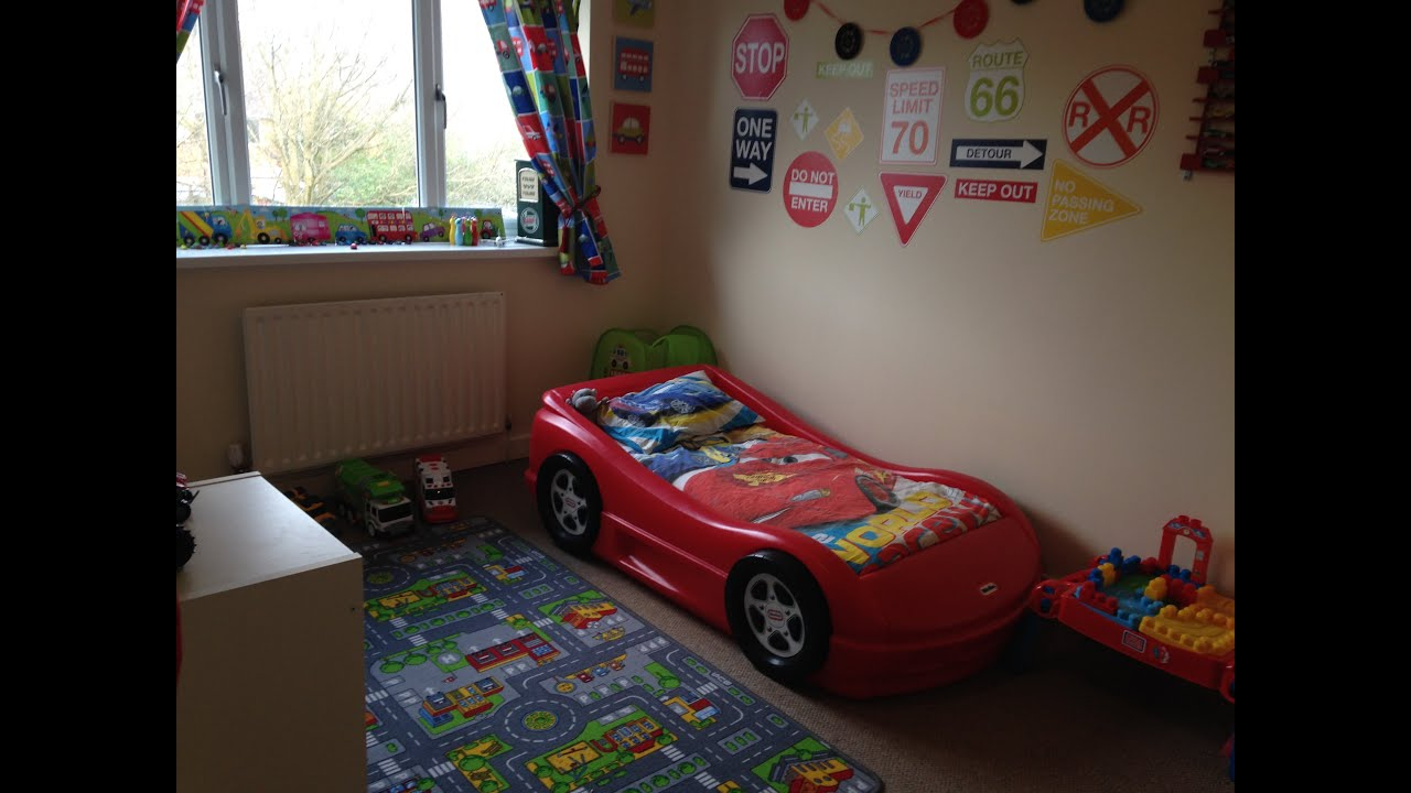 Car Themed Toddler Room Tour