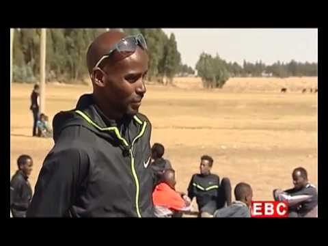 Mo Farah's visit in Ethiopia for training in 02  2015   Part one   YouTube
