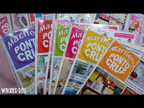 Revista Marileny Ponto Cruz - Coleção completa! + Sorteio