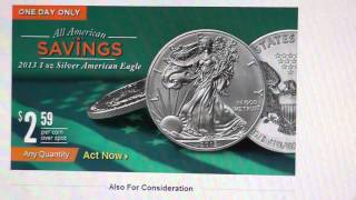 American Silver Eagle sale at Apmex, today only! 6/18