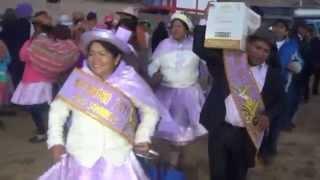 """Banda """"Glorias del Tupac"""" en ACAC BELLAVISTA  2014 - 01"""