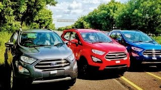 All New Ford EcoSport Smoke Grey, Red, White, Silver, Blue, Canyon Ridge and Black Walkaround !