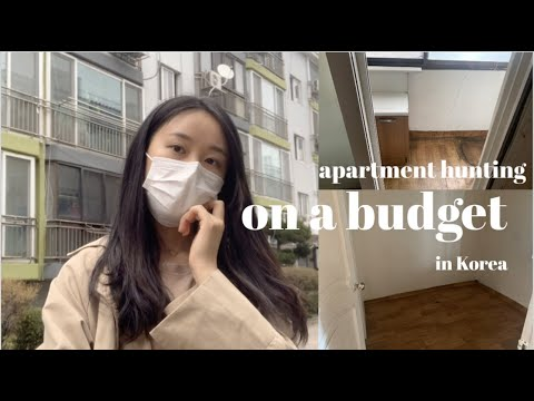 Daily Vlog 1 | Newlyweds Apartment Hunting in Korea(STRUGGLES)  Day 1