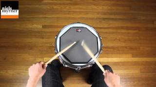 Drag Paradiddle #2 - Drum Rudiment Lesson