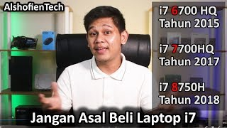 Jangan Asal Beli Laptop Core i7
