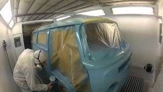Painting A VW campervan - Classic and Custom paintwork & resprays UK