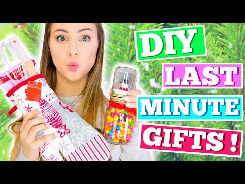 DIY Last Minute Christmas Gifts ! Testing Pinterest and Buzzfeed DIYs !