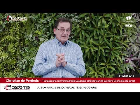 Entretiens de l'Académie : Christian de Perthuis