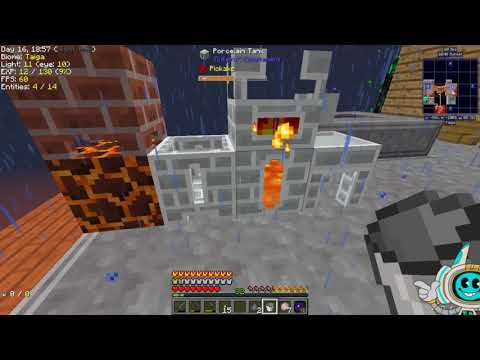 Modern Skyblock 3, Staged, Episode 7 (Lava wood, and Smelting tools)