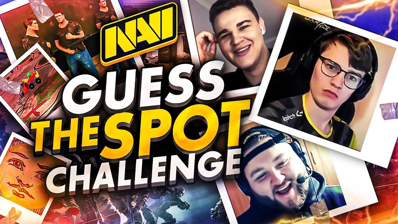 Guess the Spot Challenge (NAVI Rainbow Six)