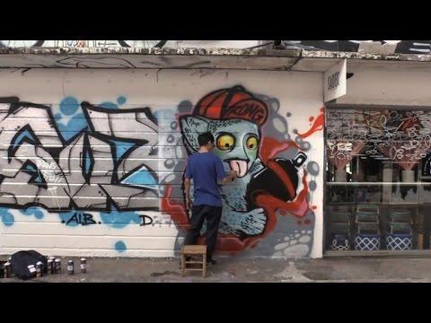 Taggers' delight: Vietnam city turns into graffiti canvas
