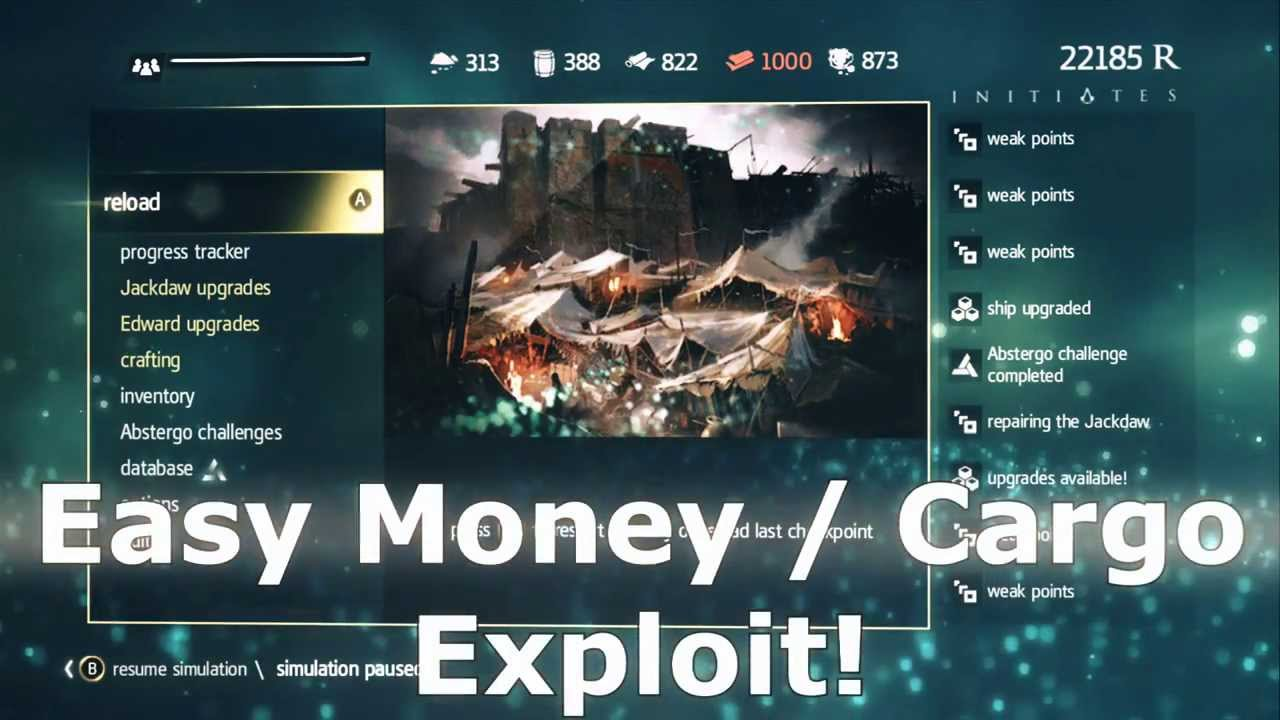 assassins creed 4 black flag easy fast money and cargo