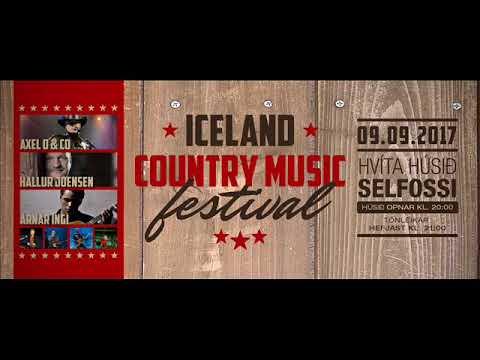 Suðurland FM - Iceland Country Music Festival 2017. Axel og Hallur