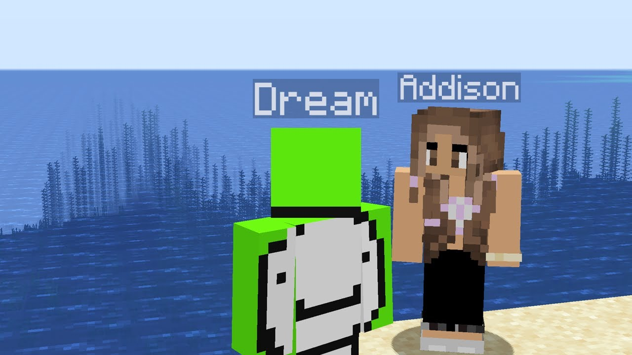 Addison Rae Joins The Dream SMP..