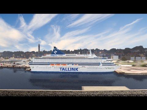 VSF | M/S Silja Europa arriving in Visby