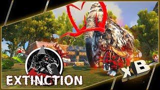 HUNTING ALPHA HARVESTERS! :: MODDED ARK: Extinction :: Ep 8