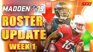 Madden 19 Roster Update Week 1: Who