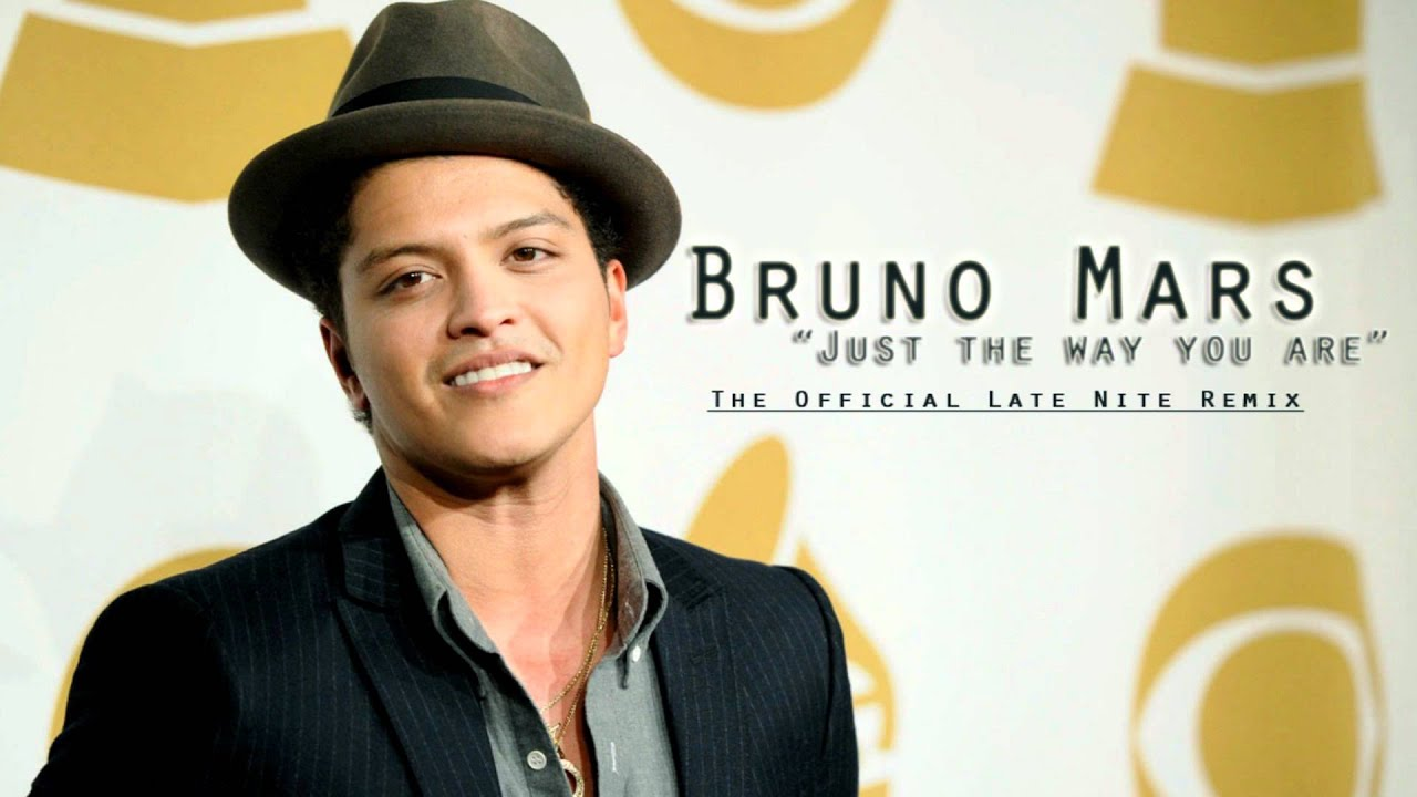 Bruno Mars Just The Way You Are Official Late Nite