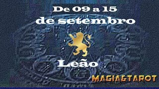 Leão semana de 09 a 15 de setembro